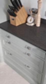 Rougemont Kitchen Door Detail