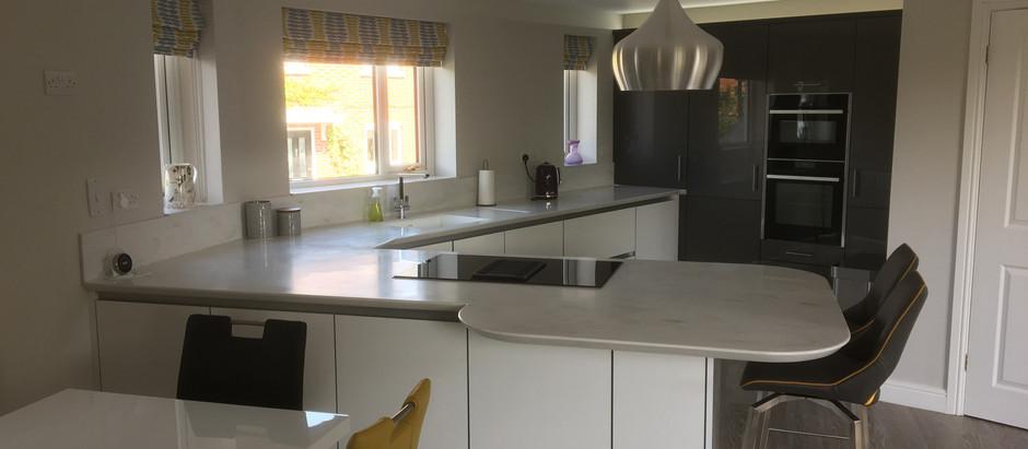 Beautiful Real Kitchens | Manston Aluma