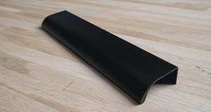 Matt Black Edge Kitchen Handle