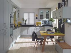 Milbourne Kitchen in Partridge Grey