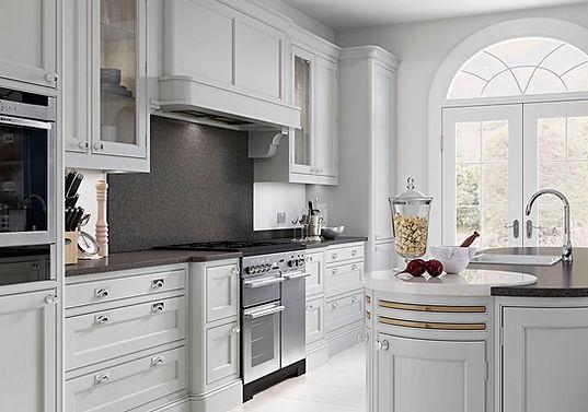 Rougemont Kitchen Mantle and Glazed Units