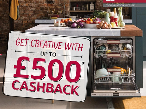 UP TO £500 CASHBACK WITH NEFF (01.09.2018 - 30.11.2018)