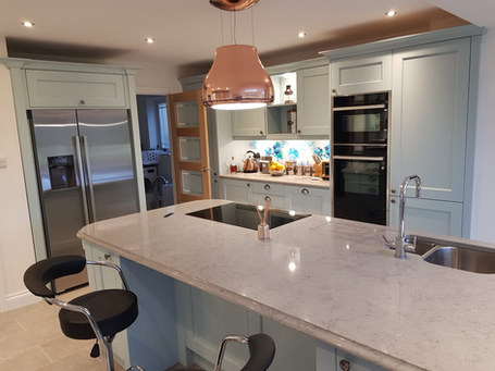 Kitchen Style: Purley in Powder Blue