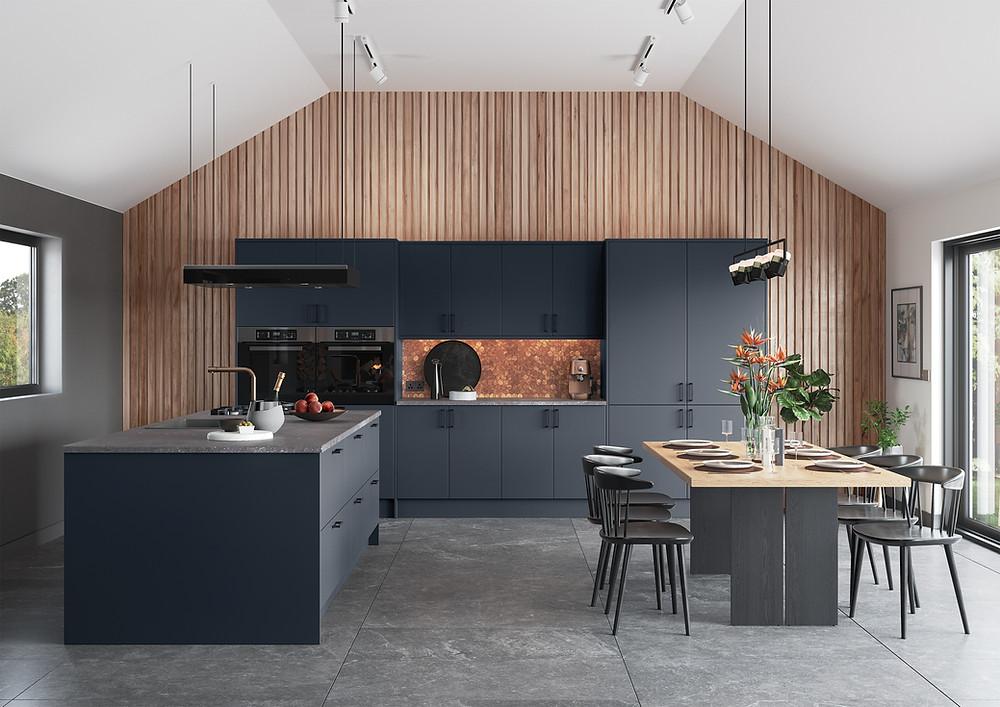 Scandi Noir Kitchen Design Inspiration
