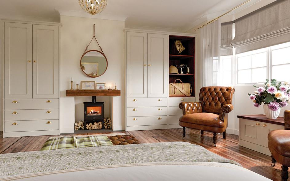 Cream Shaker Bedroom