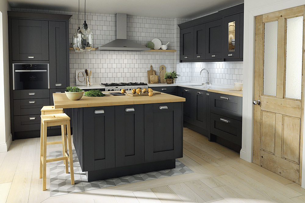 Dark Grey Kitchen Design