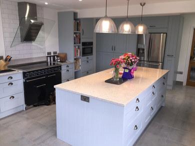 Kitchen Style: Wickham in Cornflower Blue