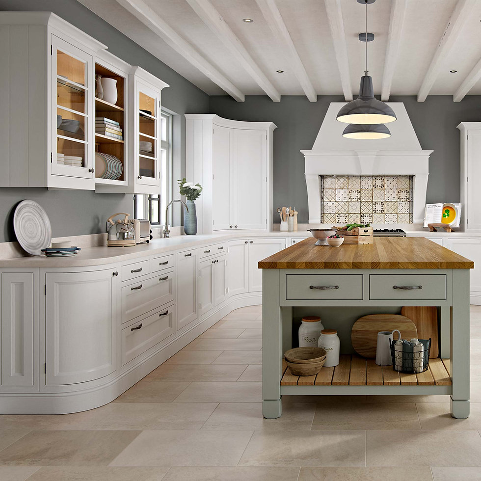Traditional In Frame Kitchen