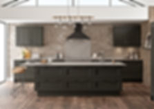 Dark Grey Kitchen