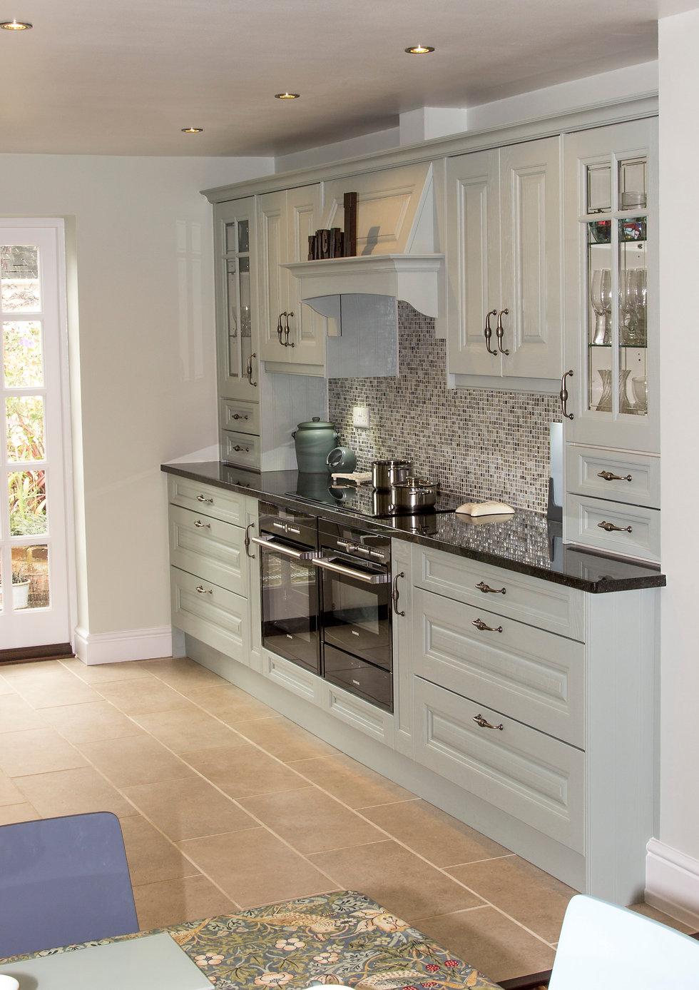 Blue shaker kitchen