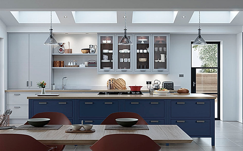 Luscombe In-Frame Kitchen
