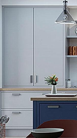 Luscombe Flat-Fronted Kitchen Door Style