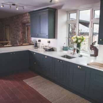 real farmhouse kitchen