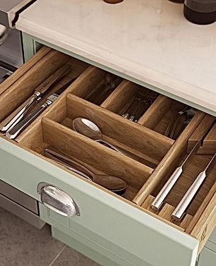 Oak Cutlery Tray