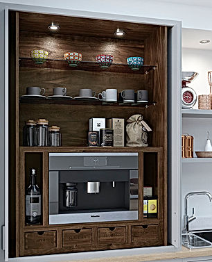 Coffee Centre for Kitchen Dresser Unit