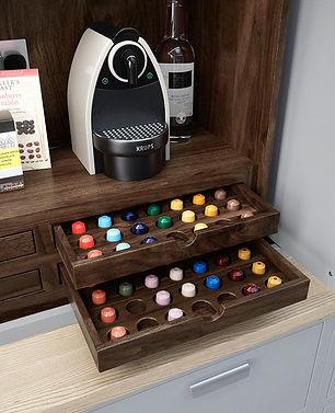 Coffee Pod Kitchen Dresser Drawers