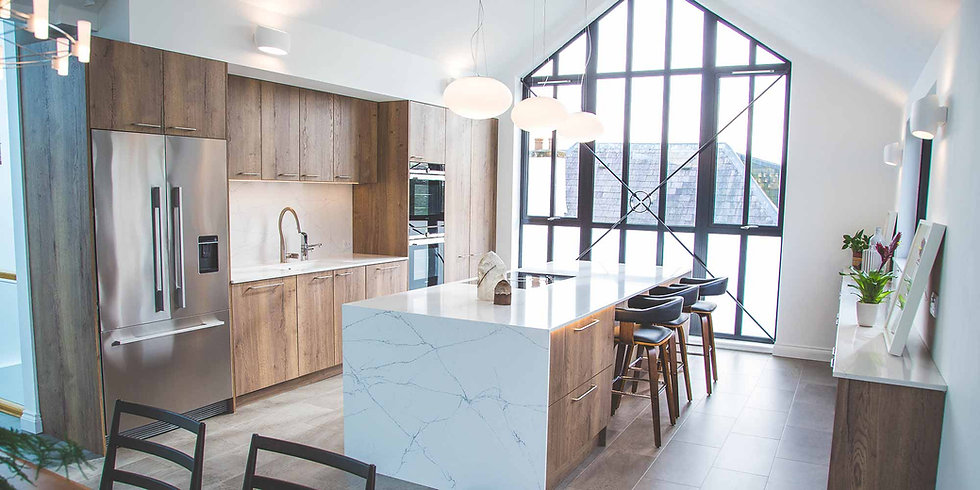 Slab Style Kitchen