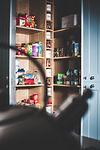 large pantry cupboard