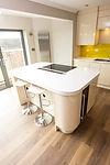 Gloss Wood Kitchen