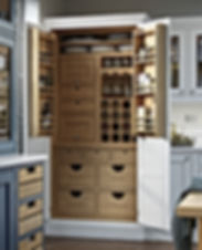Full Height Oak Pantry Unit