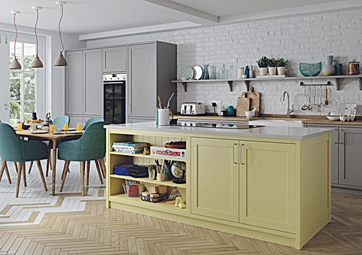 Real wood shaker kitchen