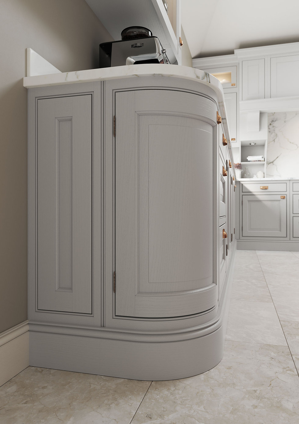 Traditional InFrame Kitchen