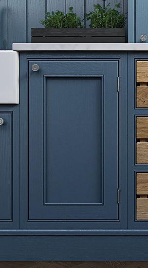 Elegance Saltram Kitchen Door Detail