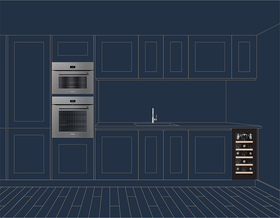 Step 3: Offer additional services for the kitchen project.