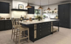Bampton Kitchen with Kitchen Island