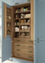 Oak Pantry Unit