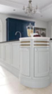 Rougemont Kitchen with Two-tone colour
