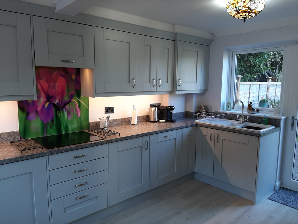 Grey Shaker Kitchen Style