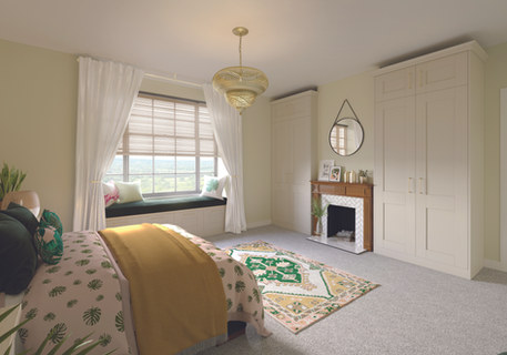 Cashmere Shaker Bedroom Furniture