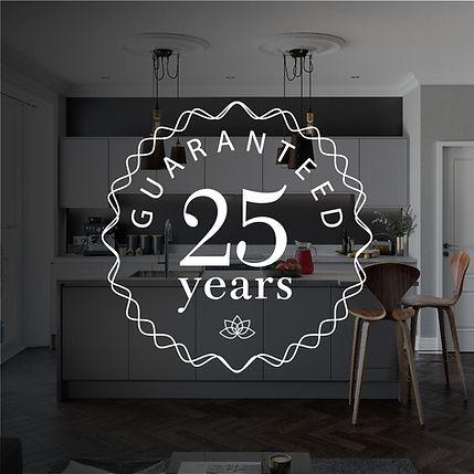 Guaranteed 25 years