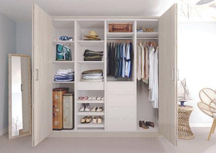Bi-fold Wardrobe