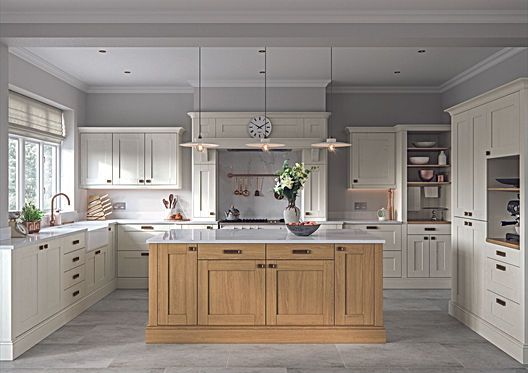Oak and Cream Kitchen