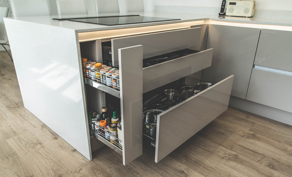Slab Style Kitchen