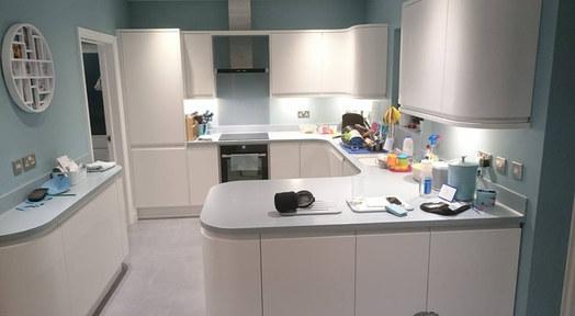 Kitchen Style: Leigh in Matt White