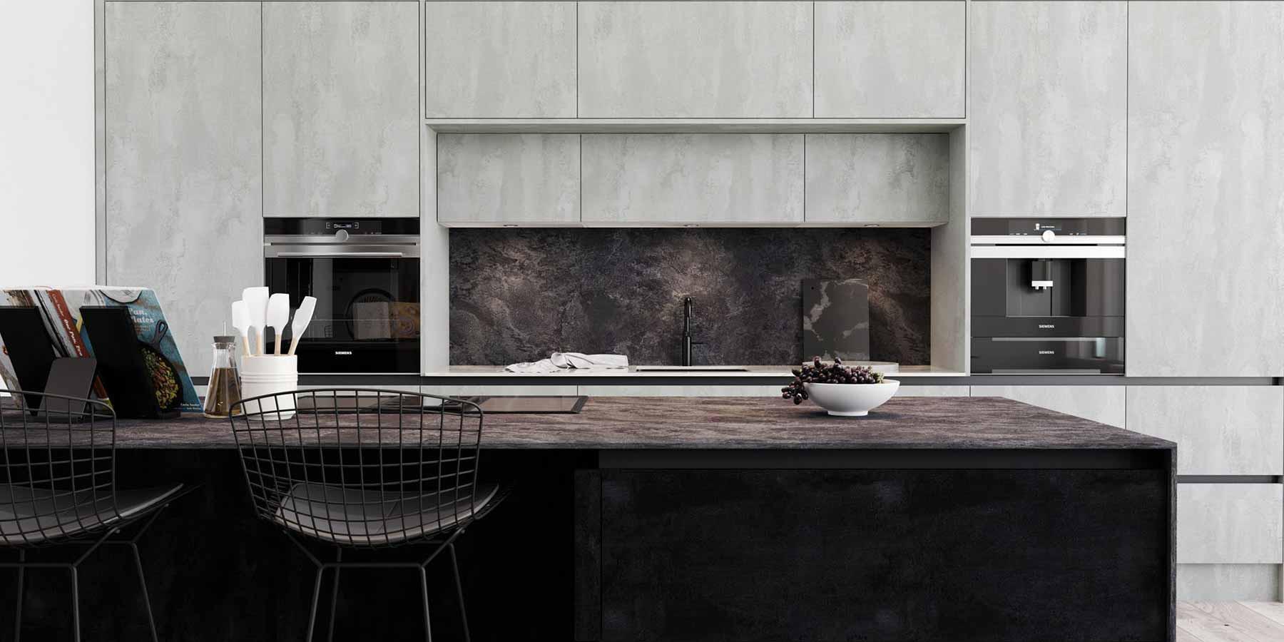 Concrete Flow & Charcoal Flow