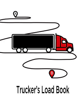 Truckers Load Book journal