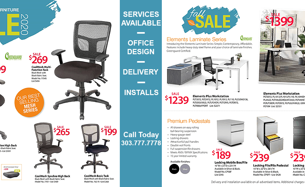 Desks-Inc Fall Sale 2020