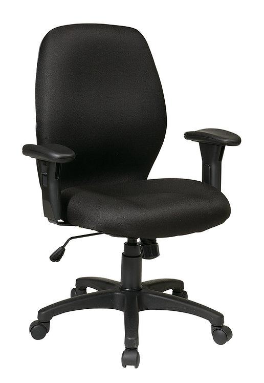 Icon Black Synchro Chair