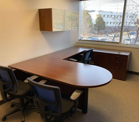 Used U Shape Desk - Right