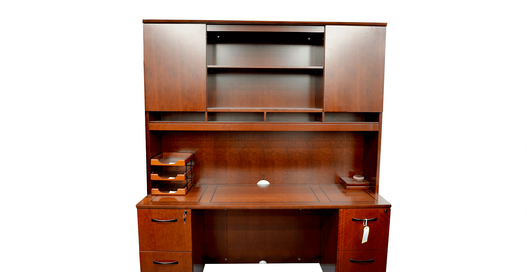 Executive Veneer Desks  0304-1-4-S214 CO