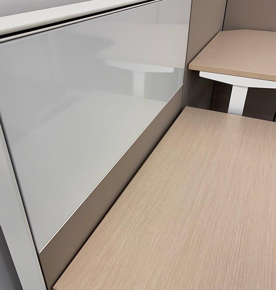 Herman Miller Height Adjustable Desk - U