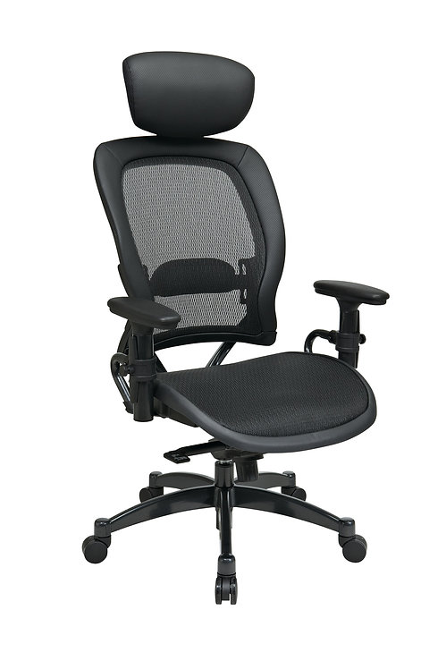 Breathable Mesh Black Chair