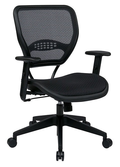 Black AirGrid Seat and Back Deluxe Task Chair
