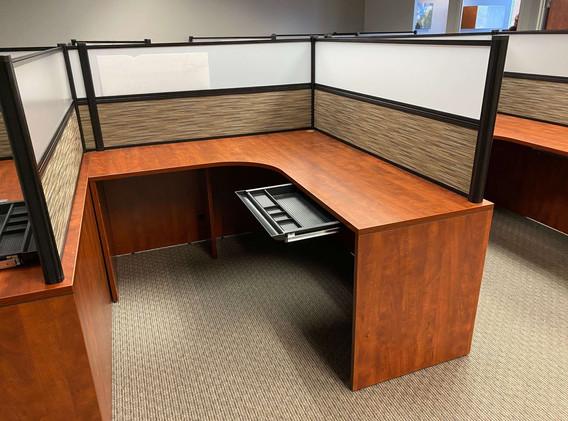 """Used """"L"""" Shape Desk - Left"""