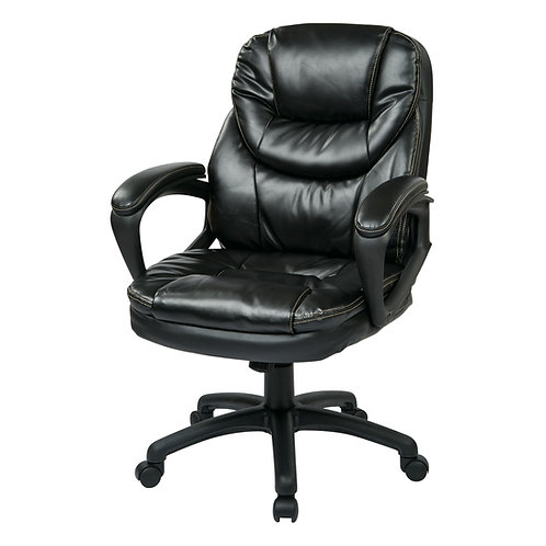 Faux Leather Manager's Chair