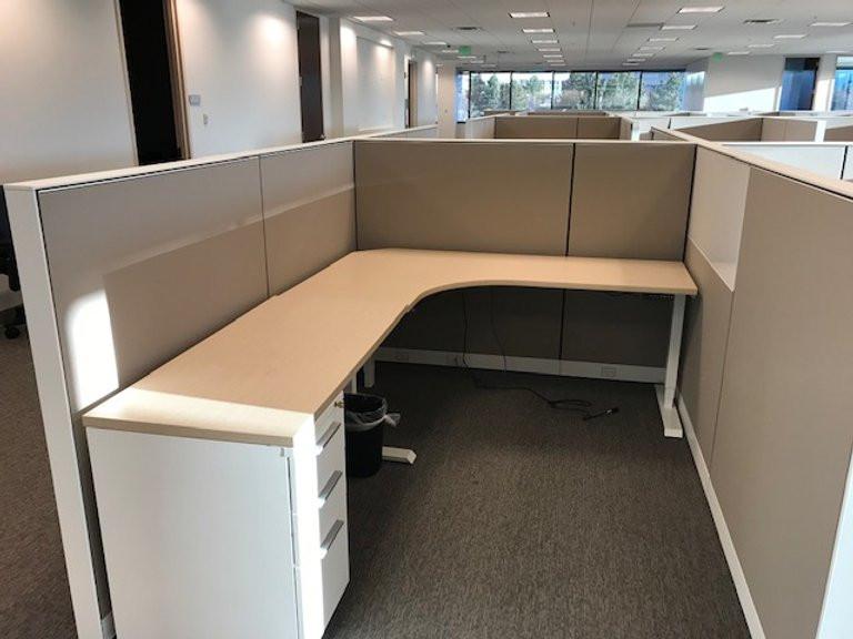 Herman Miller Height Adjustable Desk